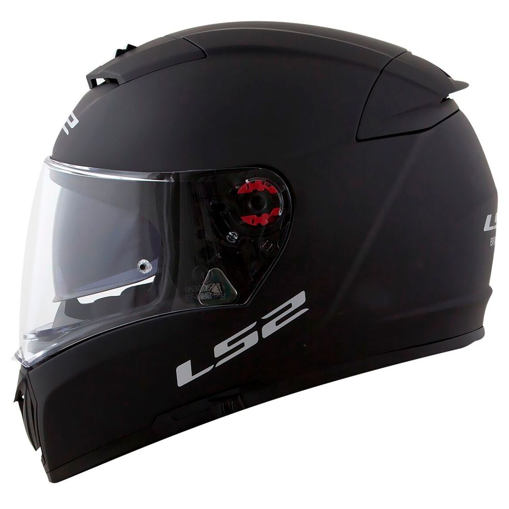 Capacete LS2 FF390 Breaker Mono - Black/Matte  - Nova Suzuki Motos e Acessórios