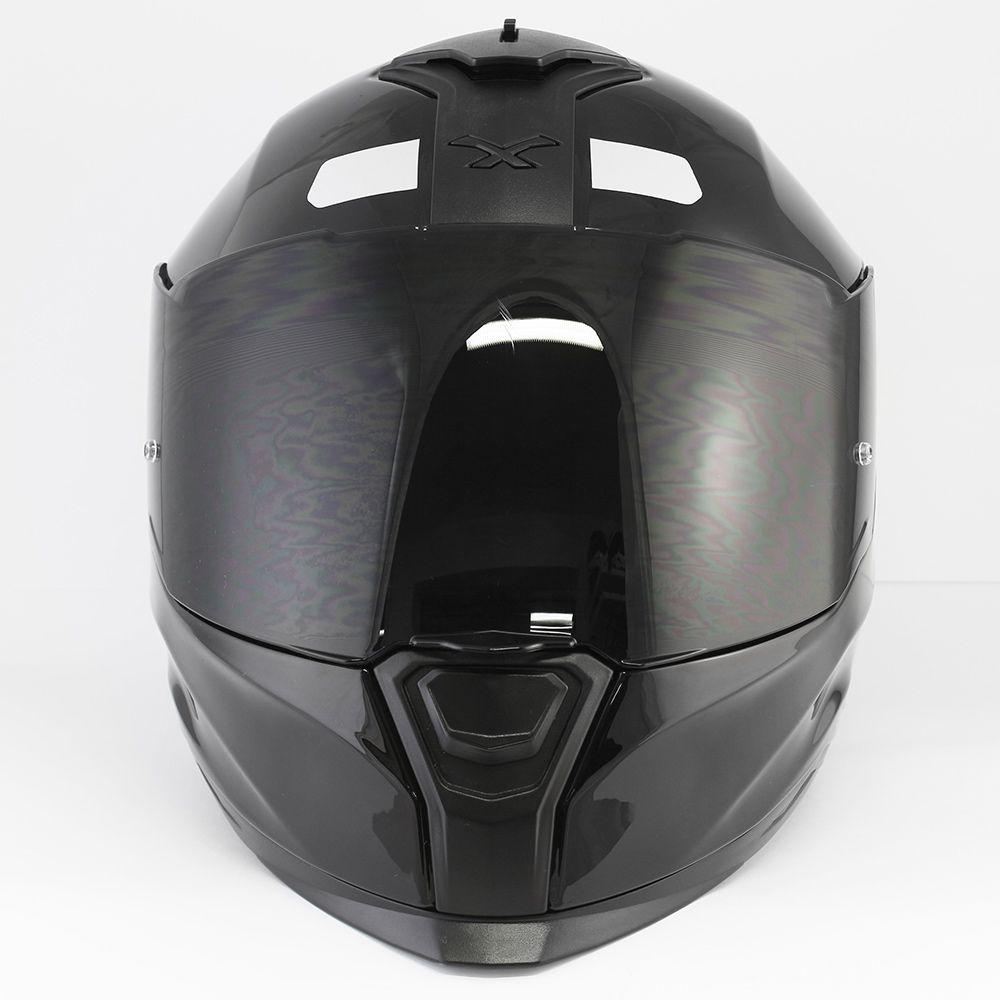 Capacete Nexx SX100 Core Preto Brilhante Com Viseira Solar e Pinlock Anti-Embaçante (k3)  - Nova Suzuki Motos e Acessórios