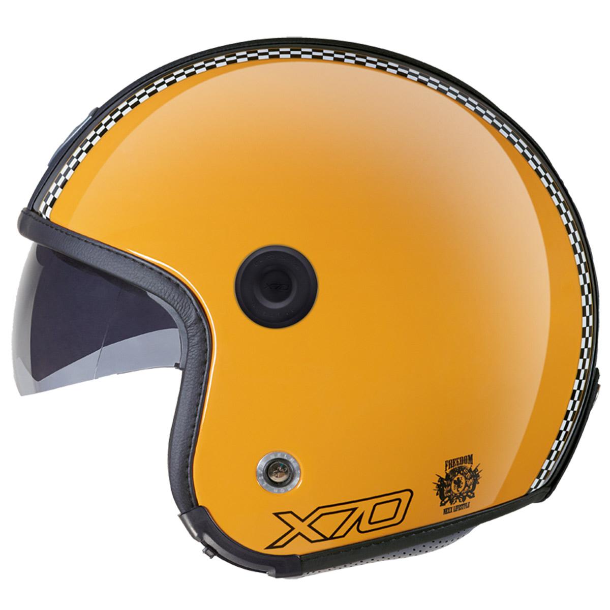Capacete Nexx X70 Freedom Retro Yellowck - (Só 60/L)  - Nova Suzuki Motos e Acessórios
