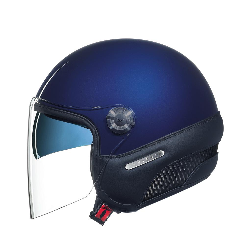 Capacete Nexx X70 INSIGNIA NAVY BLUE  Tri-Composto - Aberto  - Nova Suzuki Motos e Acessórios