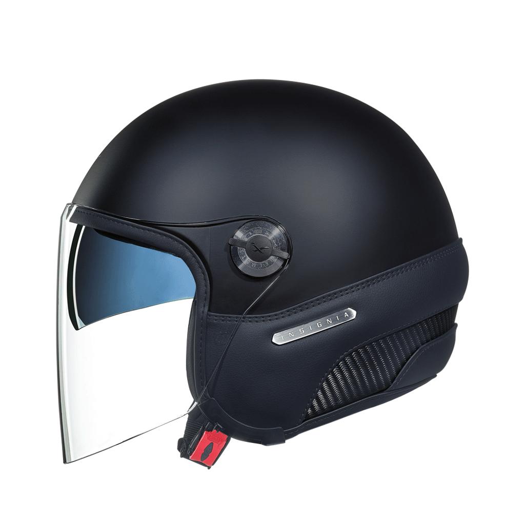 Capacete Nexx X70 INSIGNIA BLACK MT  Tri-Composto - Aberto  - Nova Suzuki Motos e Acessórios