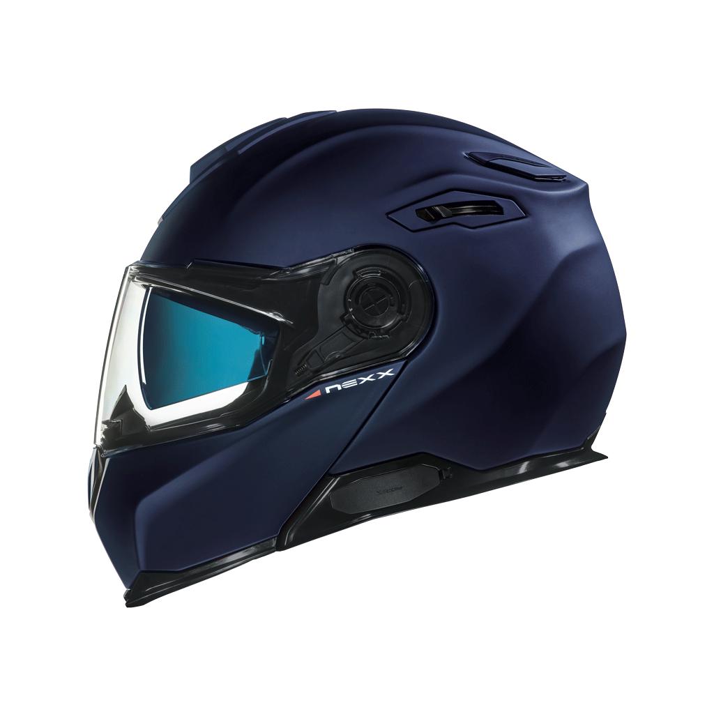 Capacete Nexx X-Vilitur PLAIN INDIGO BLUE MT  - Nova Suzuki Motos e Acessórios