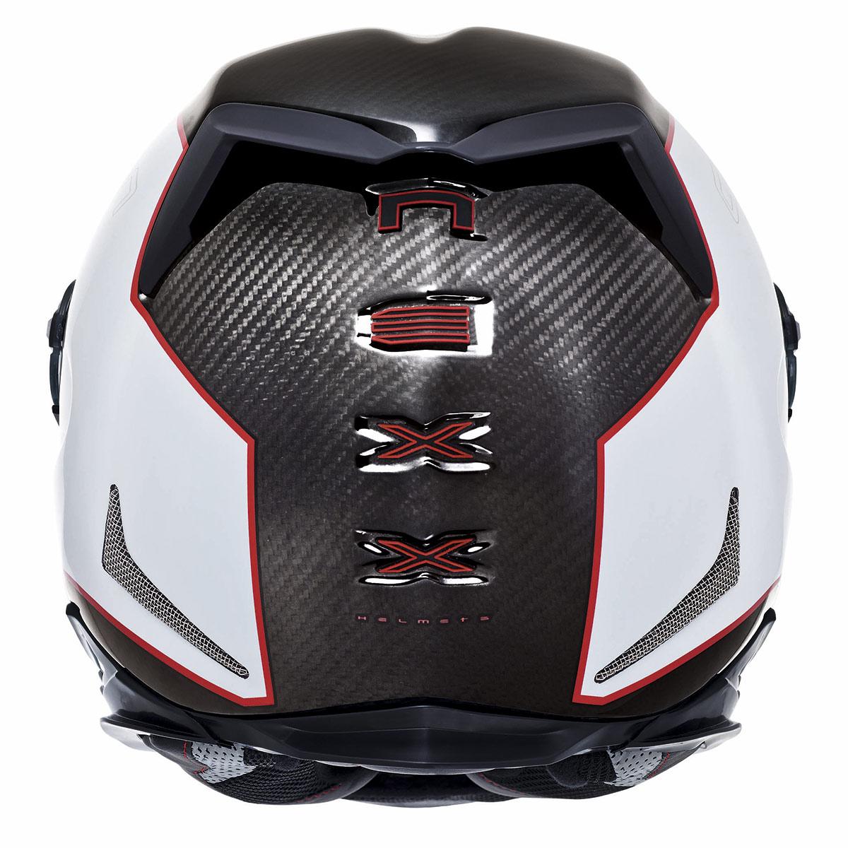 Capacete Nexx XR2 Carbon Branco  - Nova Suzuki Motos e Acessórios