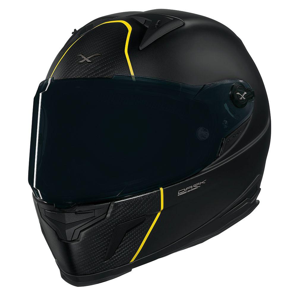 Capacete Nexx XR2 Carbon Dark Division - Esportivo  - Nova Suzuki Motos e Acessórios