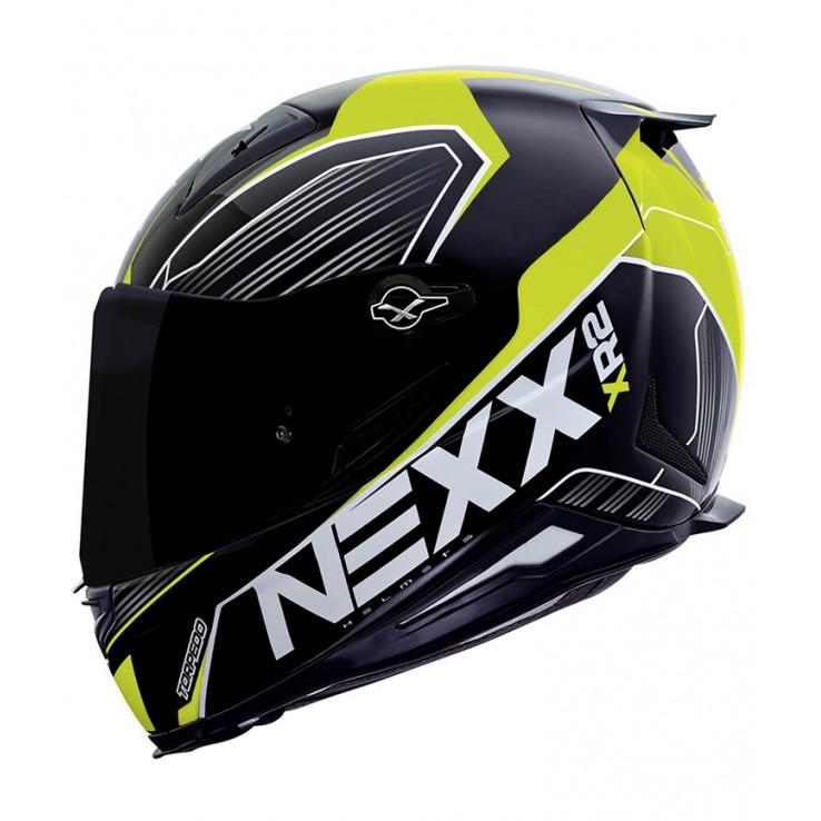 Capacete Nexx XR2 Torpedo Neon Amarelo - Tri-Composto  - Nova Suzuki Motos e Acessórios