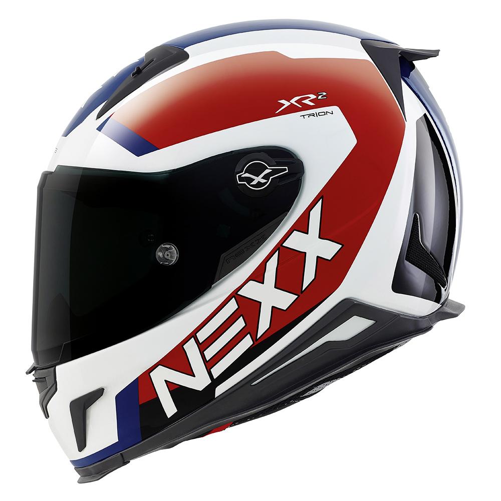 Capacete Nexx XR2 Trion Tricolor - Tri-Composto (SÓ XL)  - Nova Suzuki Motos e Acessórios