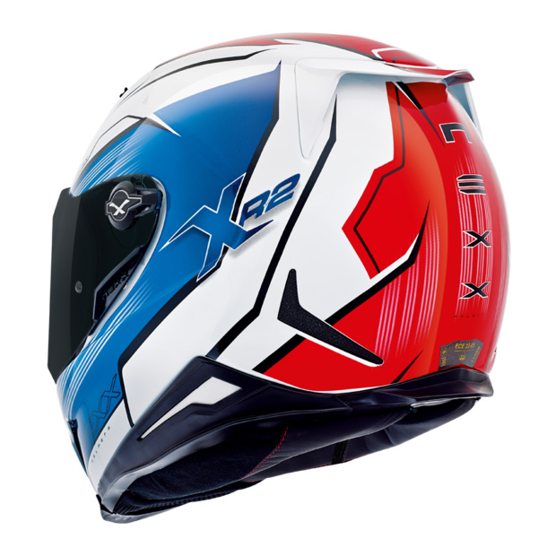 Capacete Nexx XR2 Vortex Azul - Tri-Composto  - Nova Suzuki Motos e Acessórios