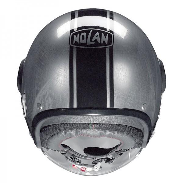 Capacete Nolan N21 Visor Duetto Cromado Cor 27 C/ Viseira Solar Interna  - Nova Suzuki Motos e Acessórios
