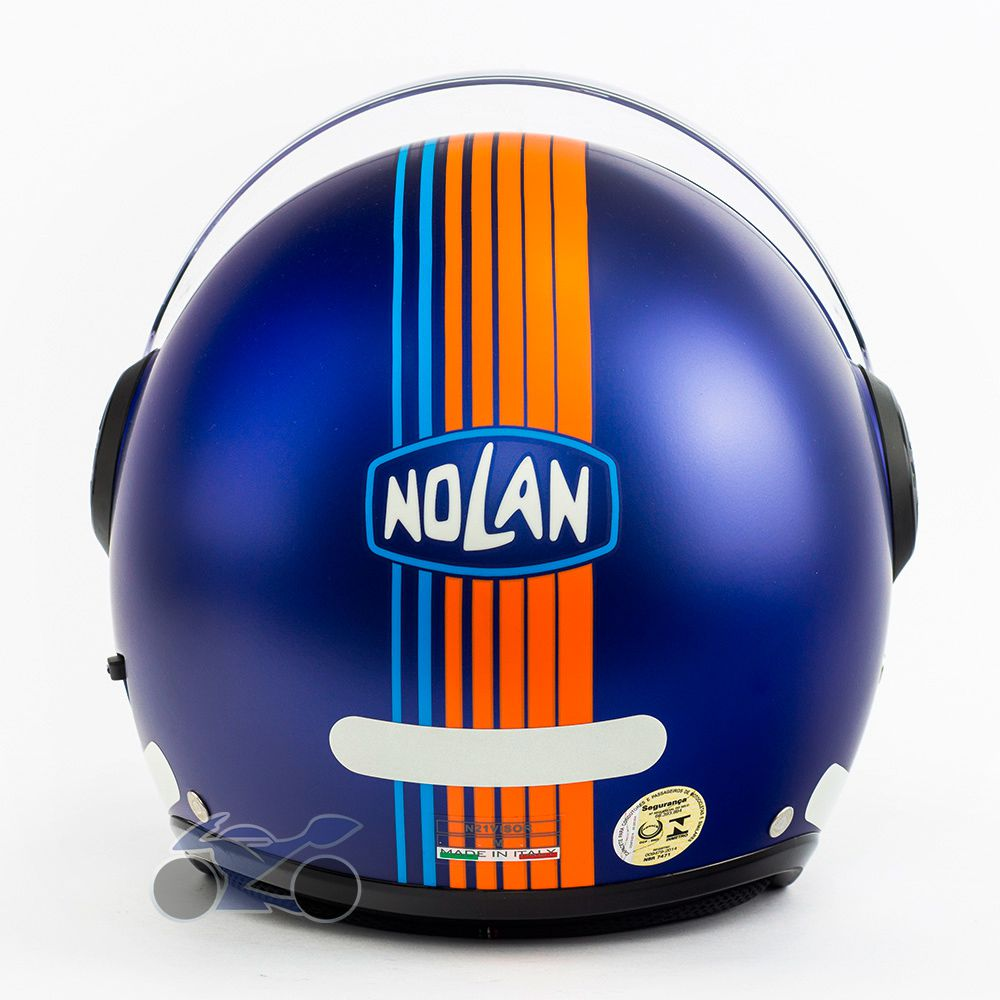Capacete Nolan N21 Vivre AZUL Com Viseira Solar Interna (AGV Blade)   - Nova Suzuki Motos e Acessórios