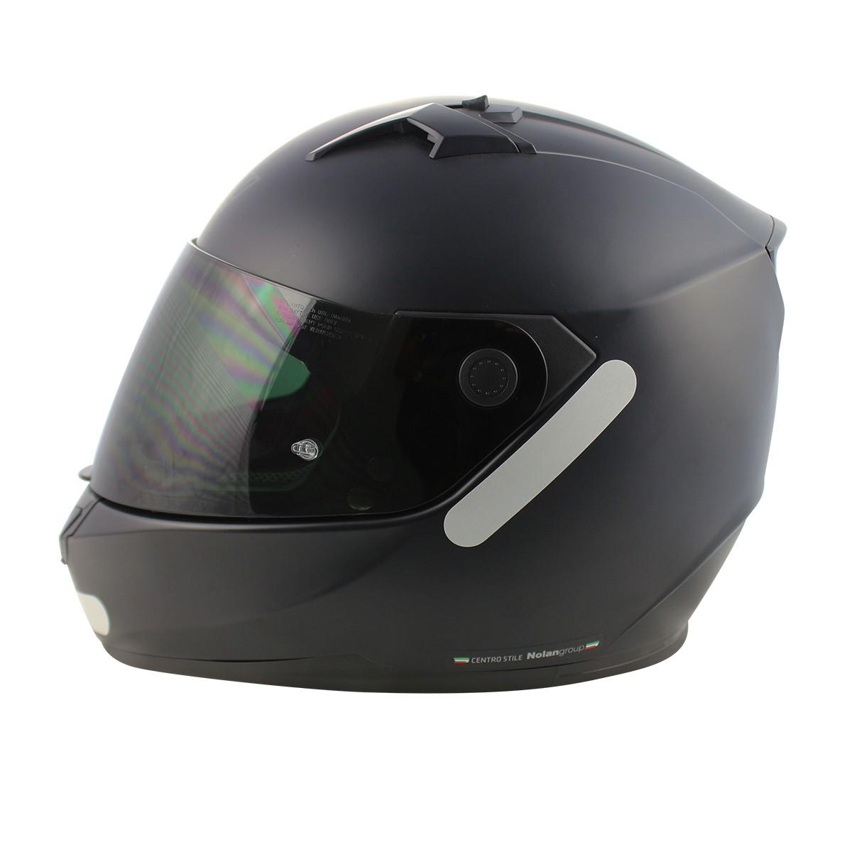 Capacete Nolan N64 Flat Black - Ganhe Touca Balaclava  - Nova Suzuki Motos e Acessórios