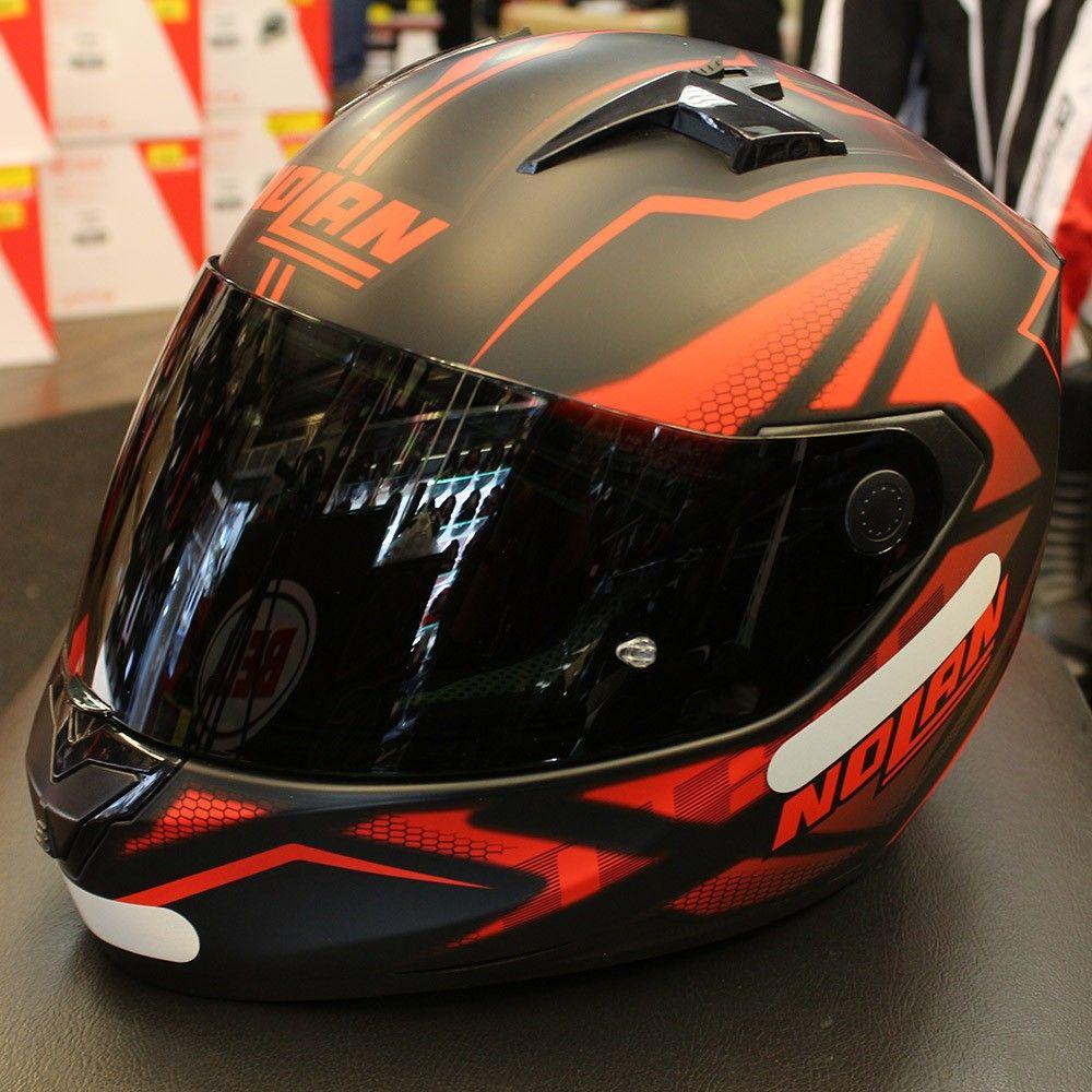 Capacete Nolan N64 Flazy Red/Black - Ganhe Balaclava Exclusiva!  - Nova Suzuki Motos e Acessórios