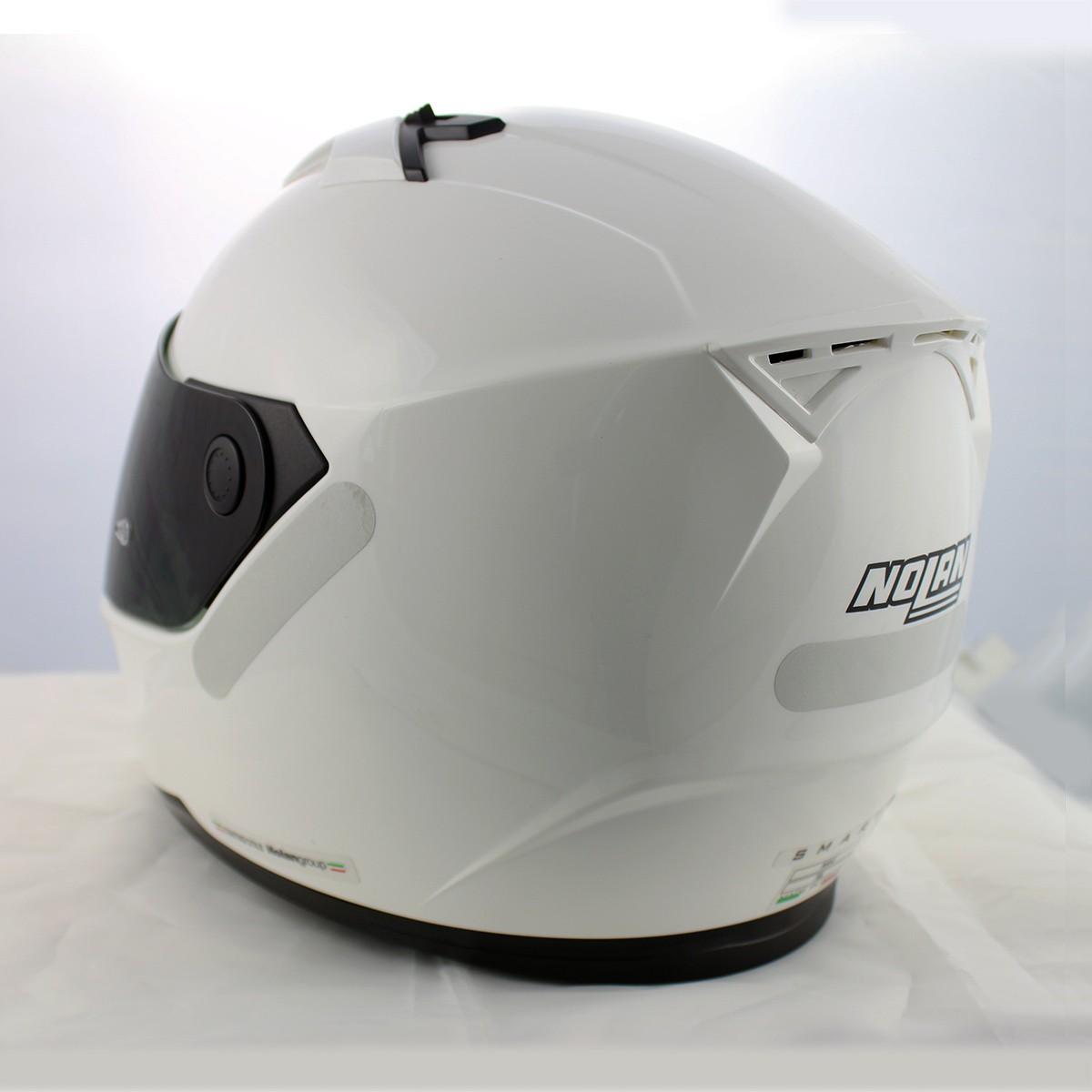 Capacete Nolan N64 Sport White - Ganhe Touca Balaclava (Agv k-3)  - Nova Suzuki Motos e Acessórios