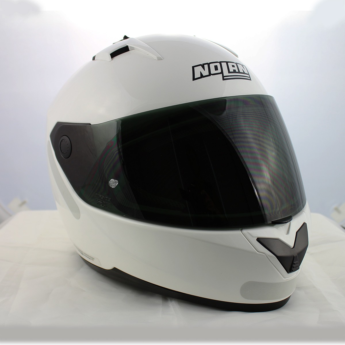 Capacete Nolan N64 Sport White - Ganhe Balaclava Exclusiva!  - Nova Suzuki Motos e Acessórios