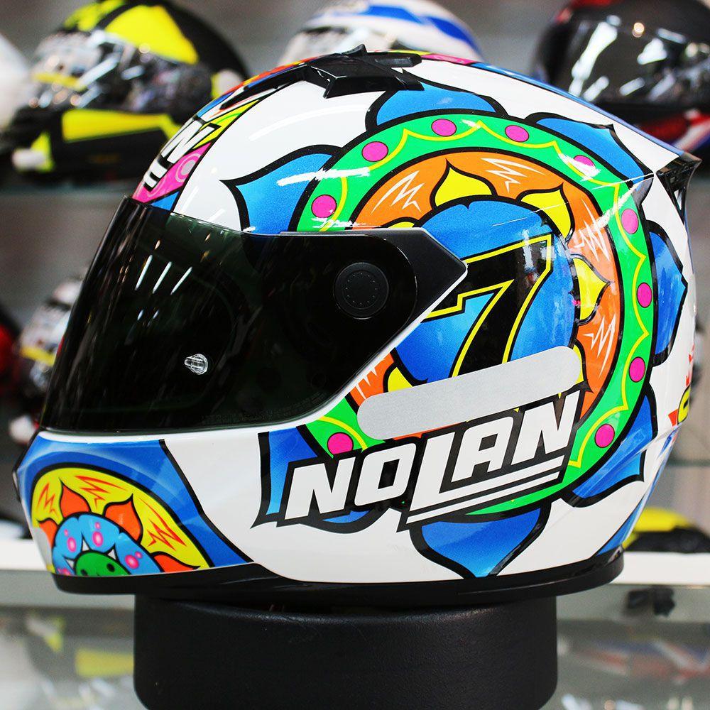 Capacete Nolan N64 Réplica C. Davies - Ganhe Balaclava  - Nova Suzuki Motos e Acessórios
