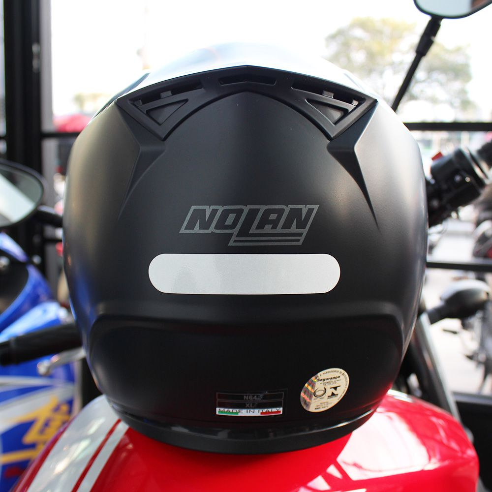 Capacete Nolan N64 Sport Flat Black - Lançamento - Ganhe Balaclava Exclusiva!  - Nova Suzuki Motos e Acessórios