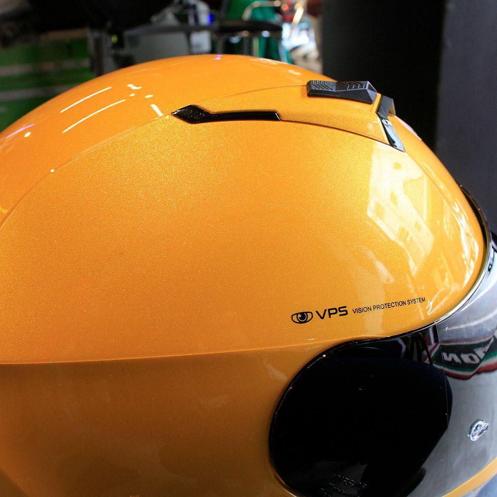 Capacete Nolan N87 Emblema Amarelo Fosco (72) C/ Viseira Solar - Ganhe Touca Balaclava (AGV K1 / K3 SV)  - Nova Suzuki Motos e Acessórios