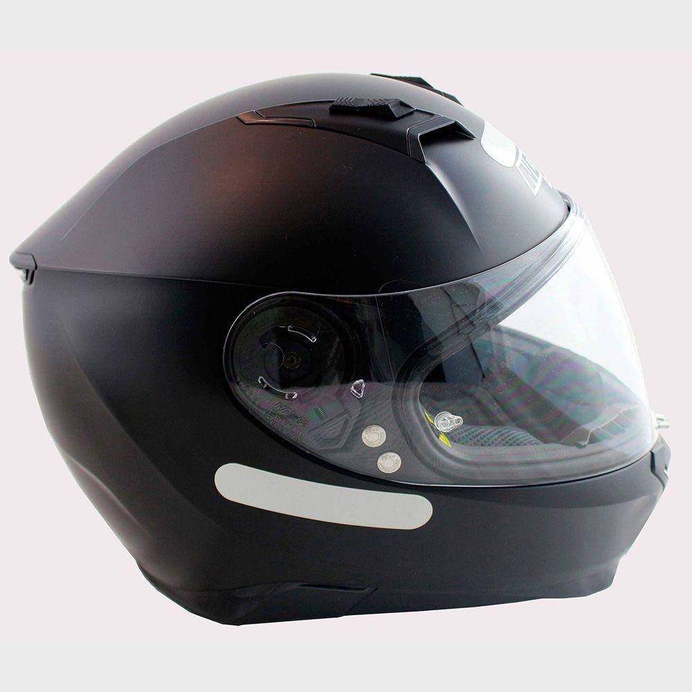 Capacete Nolan N87 Martz Flat Black C/ Viseira Solar - Ganhe Touca Balaclava (AGV K1 / K3 SV)  - Nova Suzuki Motos e Acessórios