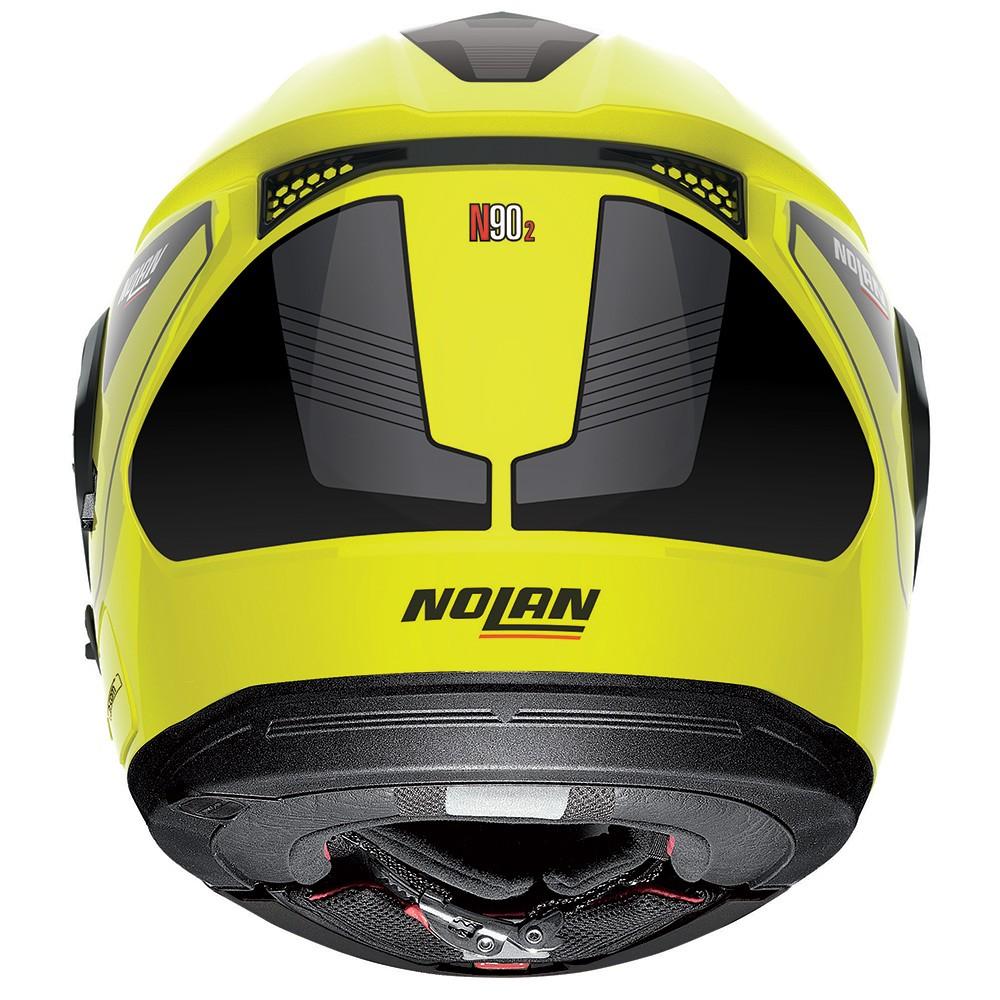 Capacete Nolan N90 Straton Amarelo Escamoteável C/ Viseira Solar Interna (GANHE BALACLAVA NOLAN)   - Nova Suzuki Motos e Acessórios