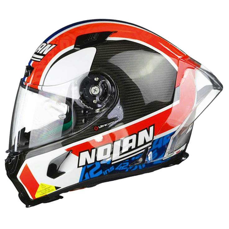 Capacete Nolan X-803RS Ultra Carbon Alex Rins Replica Piloto Esportivo - Ganhe Viseira Fumê + Touca Balaclava  - Nova Suzuki Motos e Acessórios