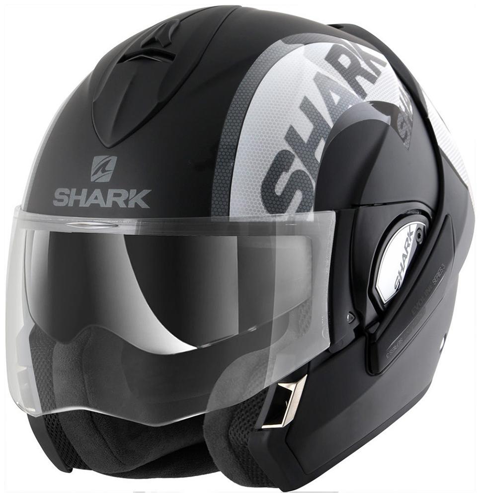 Capacete Shark Evoline Serie 3 Drop Dual Kas Escamoteável  - Nova Suzuki Motos e Acessórios
