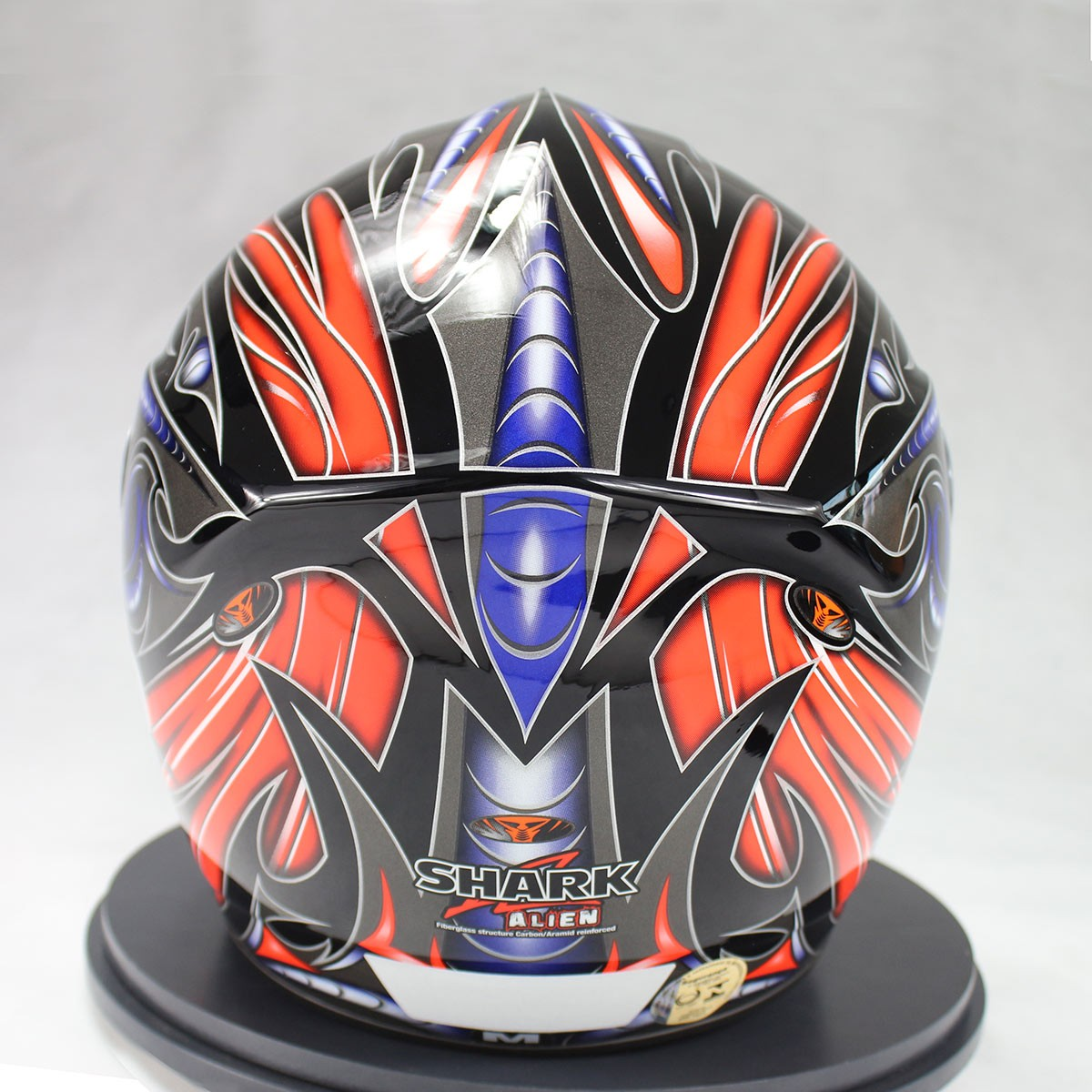 Capacete Shark RSI S2 Alien KRA  - Nova Suzuki Motos e Acessórios