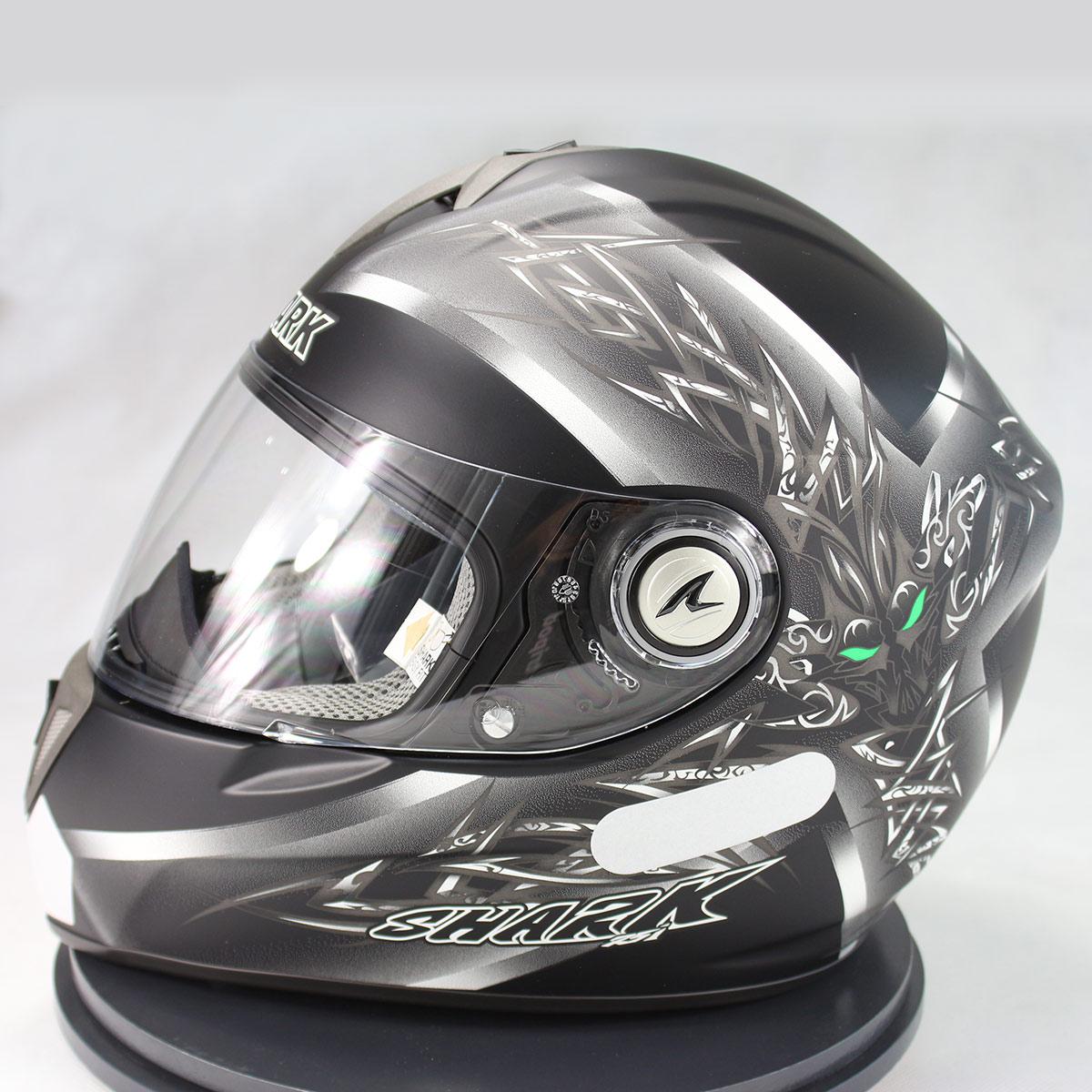 Capacete Shark RSI Thethys Mat KSA  - Nova Suzuki Motos e Acessórios