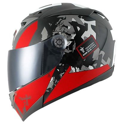 Capacete Shark S700 Trax Matt KRA Vermelho  - Nova Suzuki Motos e Acessórios