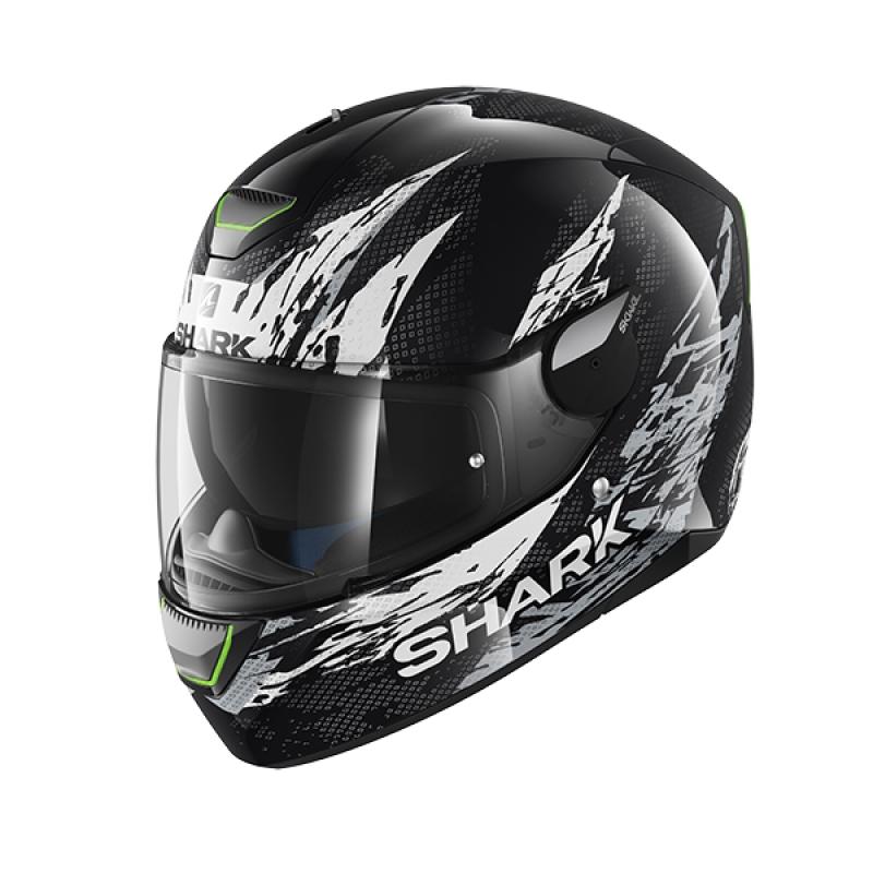 Capacete Shark Skwal Ellipse KWA c/ Led (sob consulta)  - Nova Suzuki Motos e Acessórios