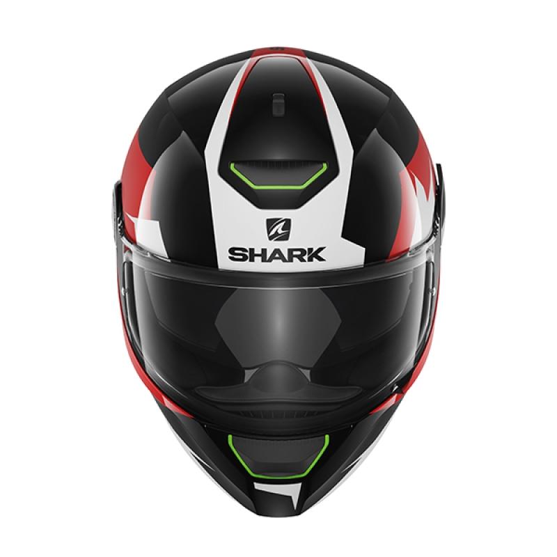 Capacete Shark Skwal Sticking KWR c/ Led  - Nova Suzuki Motos e Acessórios
