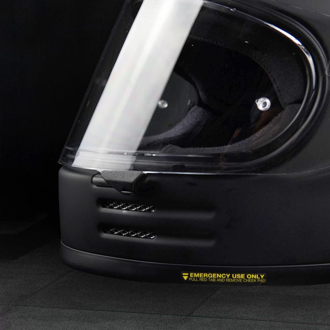 Capacete Shoei Glamster Retrô Preto Fosco Brinde: Pinlock Anti-Embaçante  - Nova Suzuki Motos e Acessórios