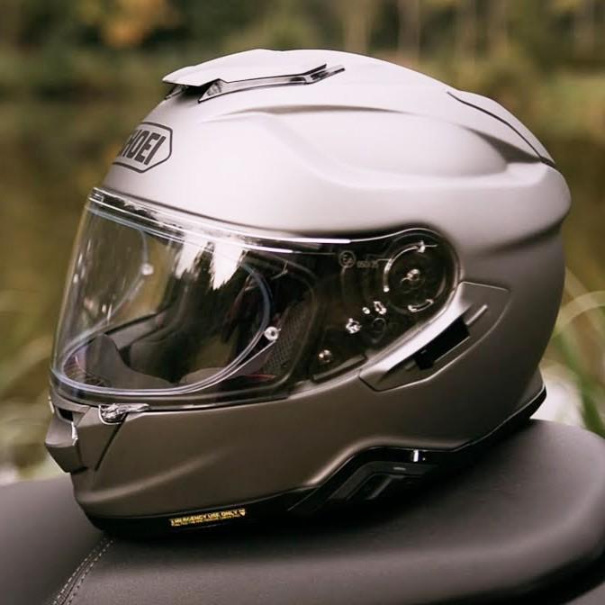 Capacete Shoei GT-Air II Deep Grey C/ Viseira Solar e Pinlock Anti-Embaçante - GT-Air 2   - Nova Suzuki Motos e Acessórios