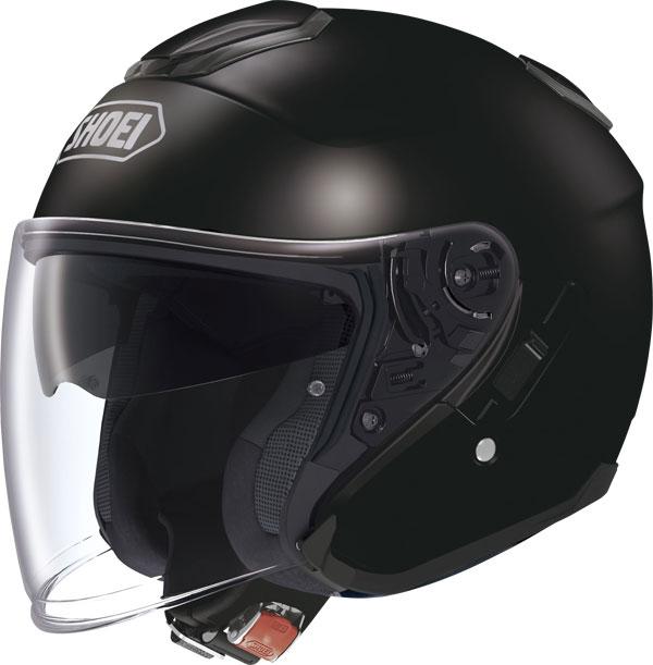 Capacete Shoei J-Cruise Black Aberto - NOVO!  - Nova Suzuki Motos e Acessórios