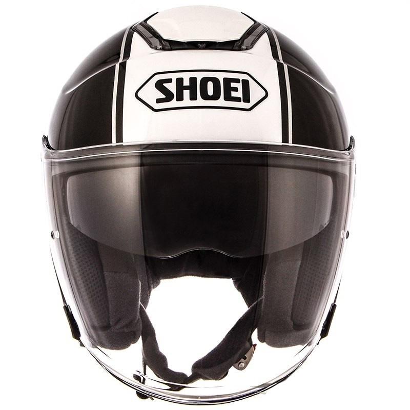 Capacete Shoei J-Cruise Corso Aberto Black/white - NOVO!  - Nova Suzuki Motos e Acessórios