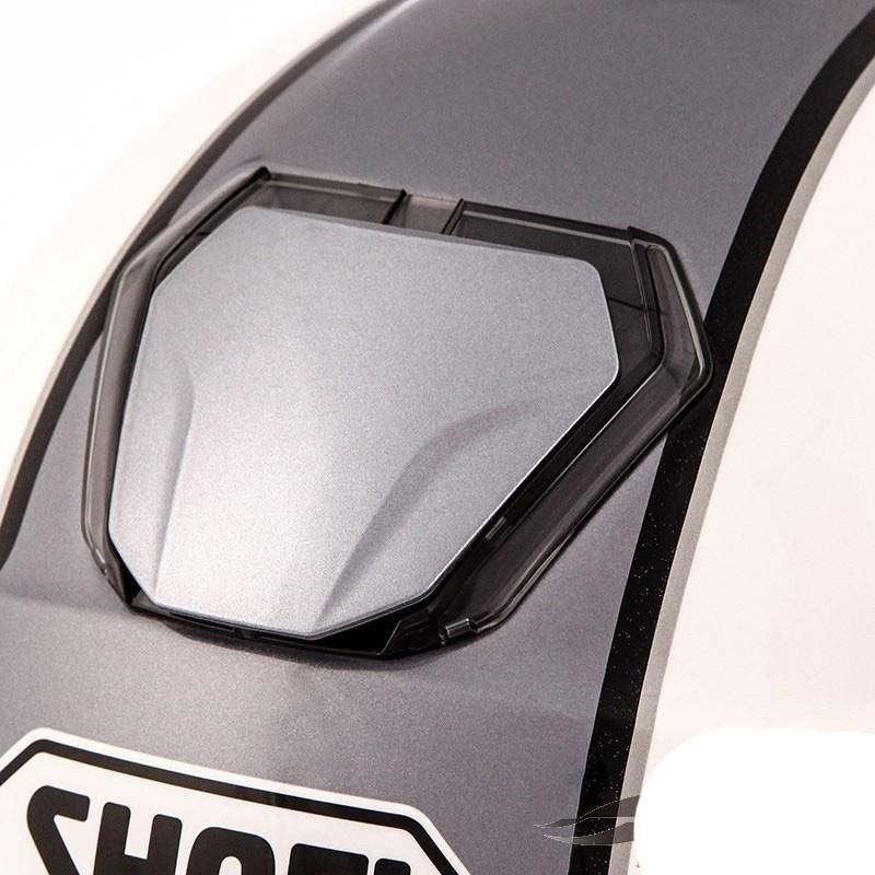 Capacete Shoei J-Cruise Corso White/Grey Aberto c/ Viseira Solar - Super Queima  - Nova Suzuki Motos e Acessórios