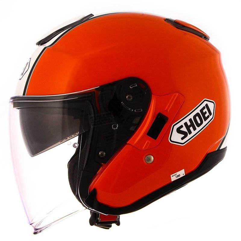 Capacete Shoei J-Cruise Corso Aberto Orange/Black - NOVO!  - Nova Suzuki Motos e Acessórios