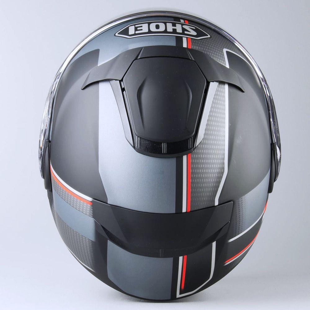 Capacete Shoei Neotec 2 Excursion TC-5 Preto/Cinza Escamoteável/Articulado  - Nova Suzuki Motos e Acessórios