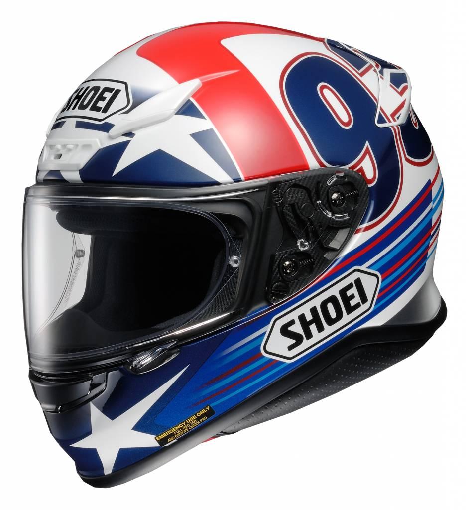 Capacete Shoei NXR Indy Marc Marquez Replica TC-2  - Nova Suzuki Motos e Acessórios