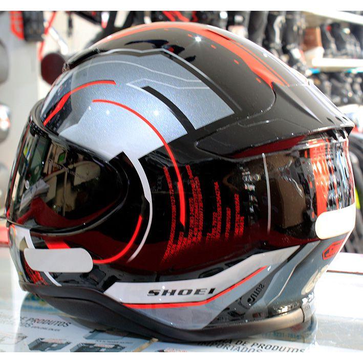 Capacete Shoei NXR Isomorph TC-1 - Só 58 e 62  - Nova Suzuki Motos e Acessórios