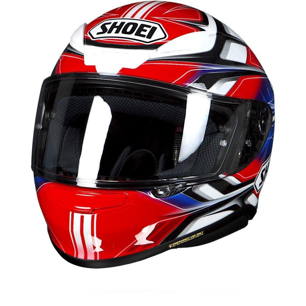 Capacete Shoei NXR Rumpus TC-1 Vermelho para Esportivas  - Nova Suzuki Motos e Acessórios