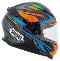 Capacete Shoei NXR Stab TC-8 Preto/Azul para Esportivas - Lançamento  - Nova Suzuki Motos e Acessórios