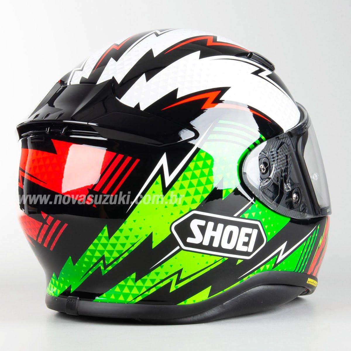 Capacete Shoei NXR Variable TC-4 para Esportivas  - Nova Suzuki Motos e Acessórios