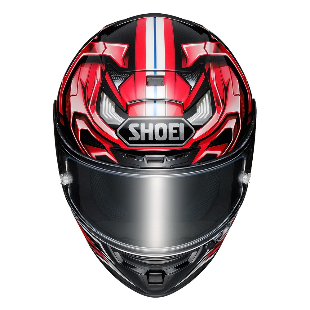 Capacete Shoei X-Spirit III Aerodyne TC-1 Vermelho/Preto - (X-Fourteen / ESPORTIVO)  - Nova Suzuki Motos e Acessórios