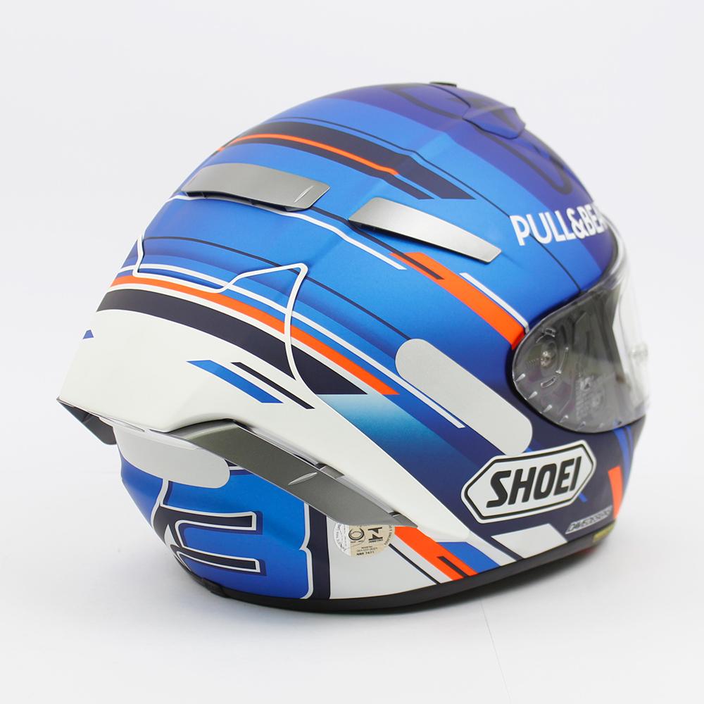 Capacete Shoei X-Spirit III Alex Marquez Azul 73 Replica X-Fourteen  - Nova Suzuki Motos e Acessórios