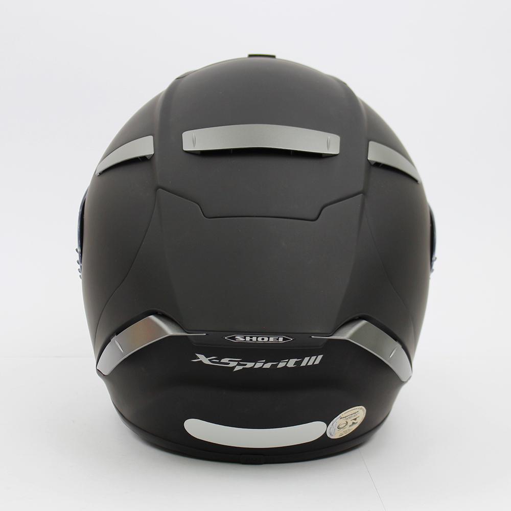 Capacete Shoei X-Spirit III Black Matt X-Fourteen  - Nova Suzuki Motos e Acessórios