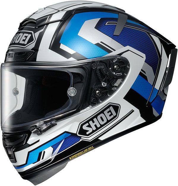 Capacete Shoei X-Spirit III BRINK TC-2 Azul (X-Fourteen / ESPORTIVO) - OFERTA!  - Nova Suzuki Motos e Acessórios