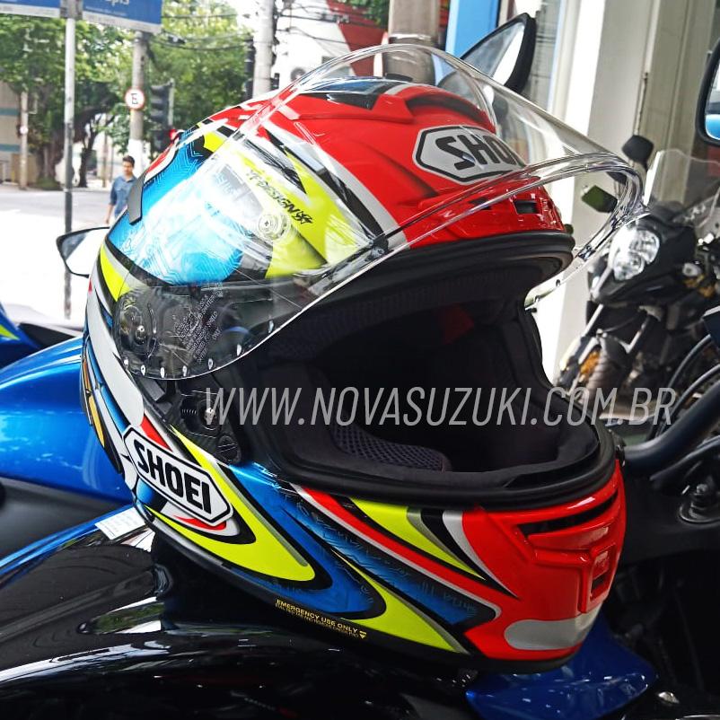 Capacete Shoei X-Spirit III Daijiro Kato Replica Piloto (X-Fourteen / ESPORTIVO)  - Nova Suzuki Motos e Acessórios