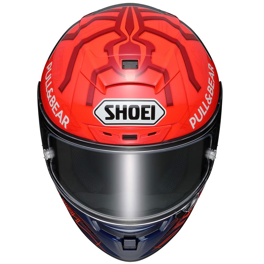 Capacete Shoei X-Spirit III Marc Marquez 6 Replica Piloto (X-Fourteen / ESPORTIVO)  - Nova Suzuki Motos e Acessórios
