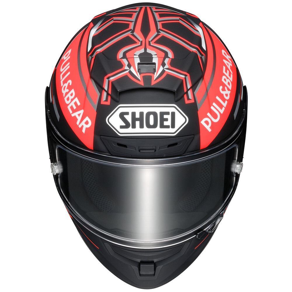 Capacete Shoei X-Spirit III Marc Marquez TC-1 Concept Replica X-Fourteen  - Nova Suzuki Motos e Acessórios