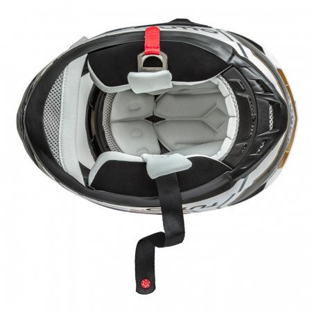 Capacete Tutto Racing Gold c/Óculos Interno - GANHE Viseira Espelhada!  - Nova Suzuki Motos e Acessórios