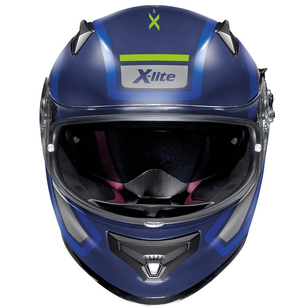 Capacete X-lite X-661 Conrade Azul Fosco (41) - GANHE TOUCA BALACLAVA X-LITE - Blackfriday  - Nova Suzuki Motos e Acessórios